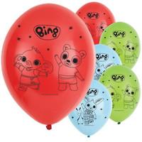 6 Bing Konijn Ballonnen