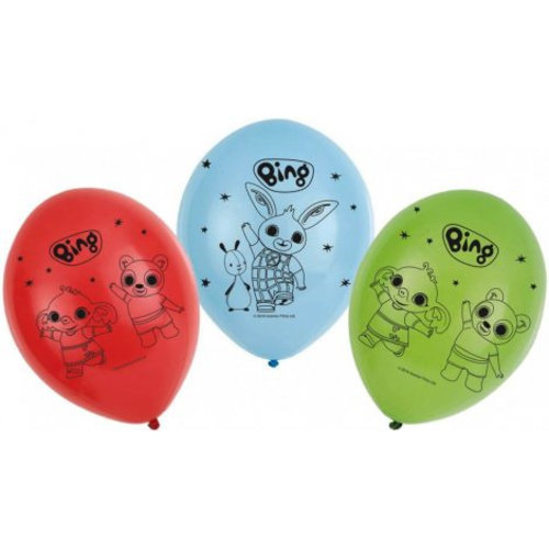 Bing Konijn Bing Konijn Ballonnen - 6 stuks