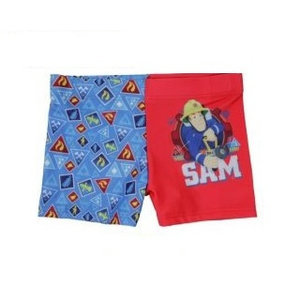 Brandweerman Sam Brandweerman Sam Zwembroek - Blauw/Rood
