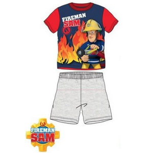Brandweerman Sam Brandweerman Sam Shortama - Grijze Short