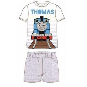 Thomas de Trein Thomas de Trein Shortama - Grijs/Wit