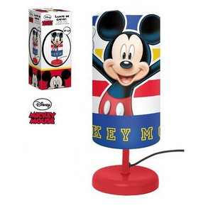 Mickey Mouse Mickey Mouse Tafellamp - Rode voet