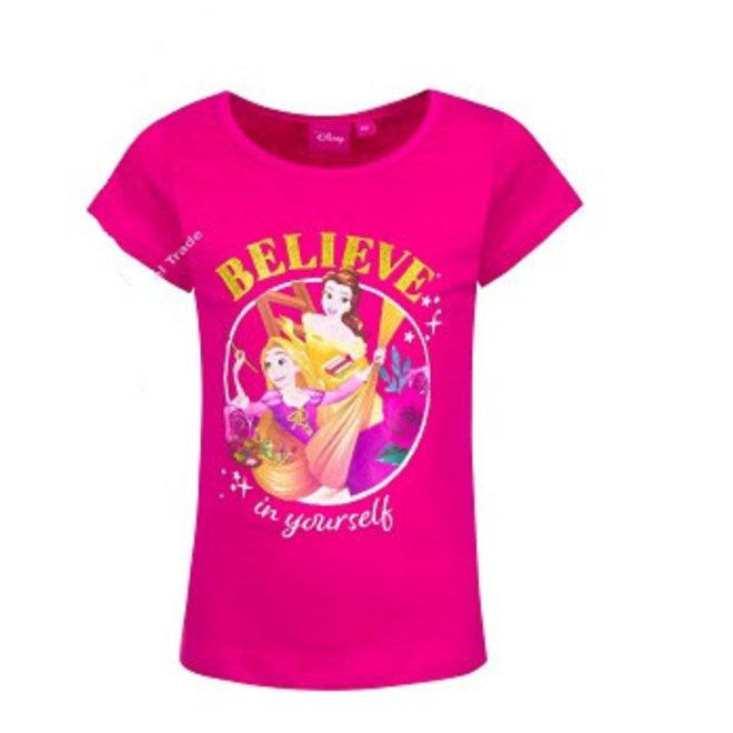 Disney Princess T-shirt - Fuchsia