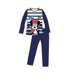 Minnie Mouse Minnie Mouse Pyjama - Blauw/Wit