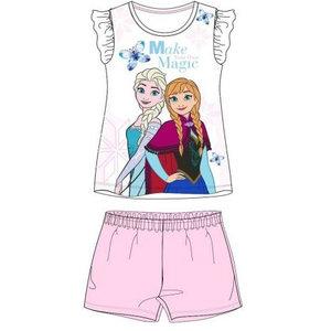 Frozen Disney Frozen Shortama - Roze/Wit