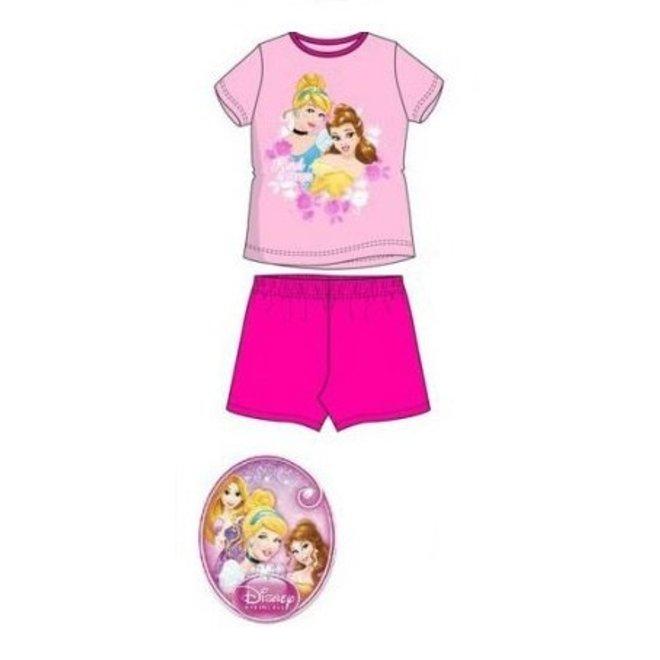 Disney Princess Shortama - Fuchsia/Roze
