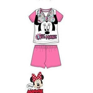 Minnie Mouse Minnie Mouse Shortama - Wit/Roze