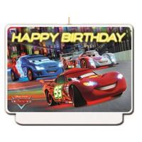 Disney Cars Verjaardagstaart Kaars - Formula