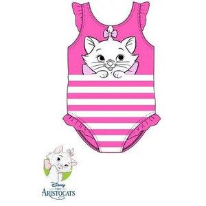 Marie Cat Marie Cat Zwempak / Badpak - Roze - Disney Baby