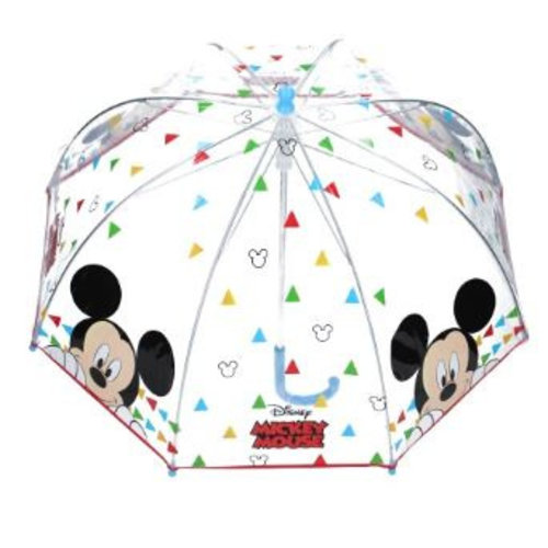 Mickey Mouse Mickey Mouse Paraplu - Transparant