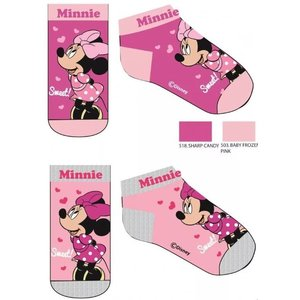 Minnie Mouse Minnie Mouse Sneakersokken - 2 paar