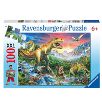 Dinosaurus Puzzel - 100 stukjes - Ravensburger