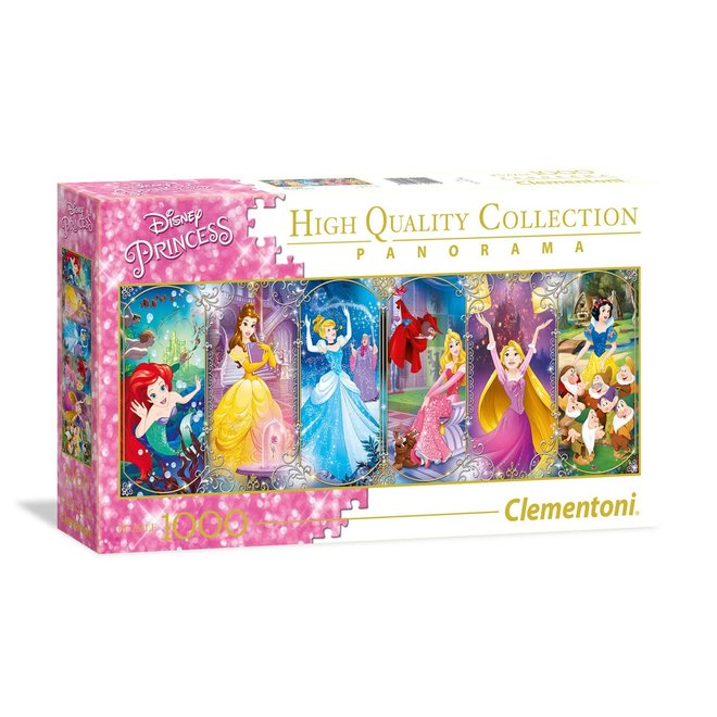 Disney Princess Panorama Puzzel- 1000 stukjes - Clementoni