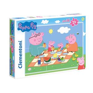 Peppa Pig Peppa Pig Maxi Puzzel - 24 stukjes - Clementoni