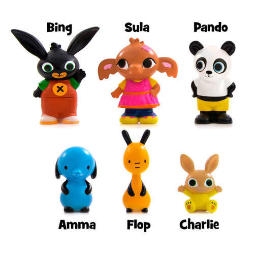 Bing Konijn Bing Konijn Speelfiguren in Koffer