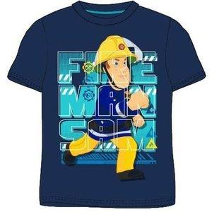 Brandweerman Sam Brandweerman Sam T-shirt - Blauw