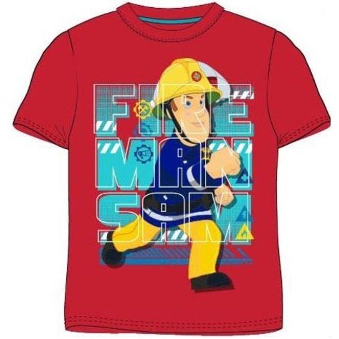 Brandweerman Sam T-shirt - Rood
