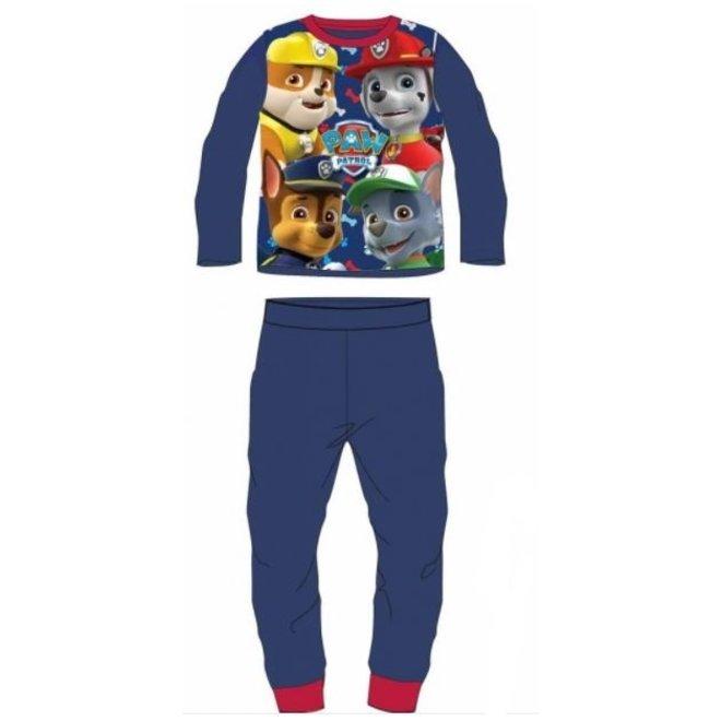 Paw Patrol Fleece Pyjama - Blauw