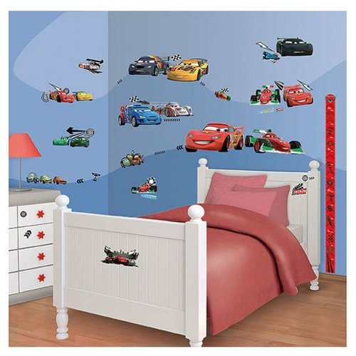 Cars Disney Cars Muurstickers Room Decor Kit - Walltastic