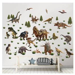Dinosaurus Dinosaurus Muurstickers Room Decor Kit - Walltastic