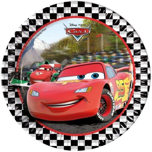 Cars 8 kartonnen Disney Cars Bordjes - Formula