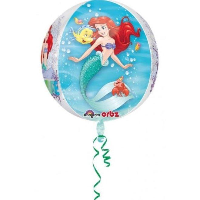 Disney Princess Ariël Folie Helium Ballon - Hervulbaar