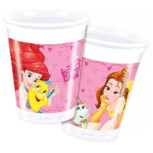Disney Princess 8 Disney Princess  Bekertjes