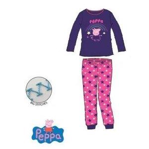 Peppa Pig Peppa Pig Fleece Pyjama - Blauw/Roze