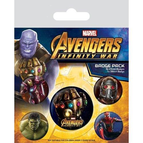 Avengers 5 Avengers Buttons / Badges - Marvel
