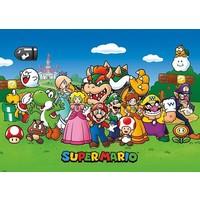 Super Mario Bros Animatie - XXL Poster