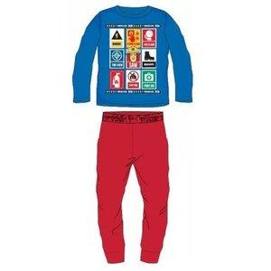 Brandweerman Sam Brandweerman Sam Pyjama - Blauw/Rood