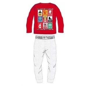 Brandweerman Sam Brandweerman Sam Pyjama - Rood/Grijs