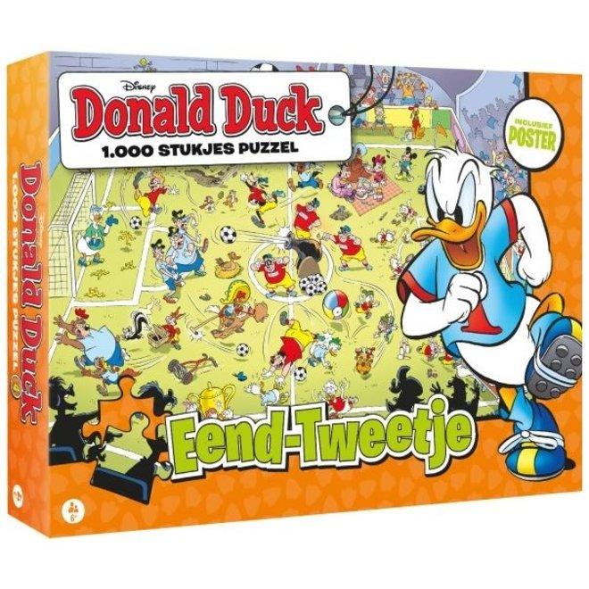 Donald Duck Puzzel - 1000 stukjes - Eend-Tweetjes