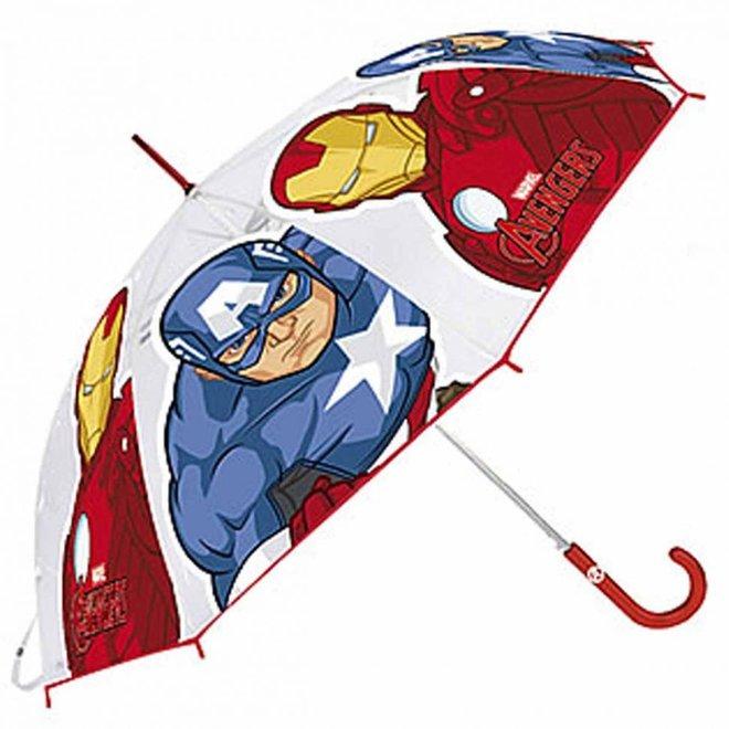 Avengers Paraplu - Rood Handvat