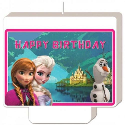 Frozen Disney Frozen Verjaardagstaart Kaars