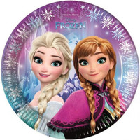 8 Disney Frozen Feestbordjes - Northern Lights