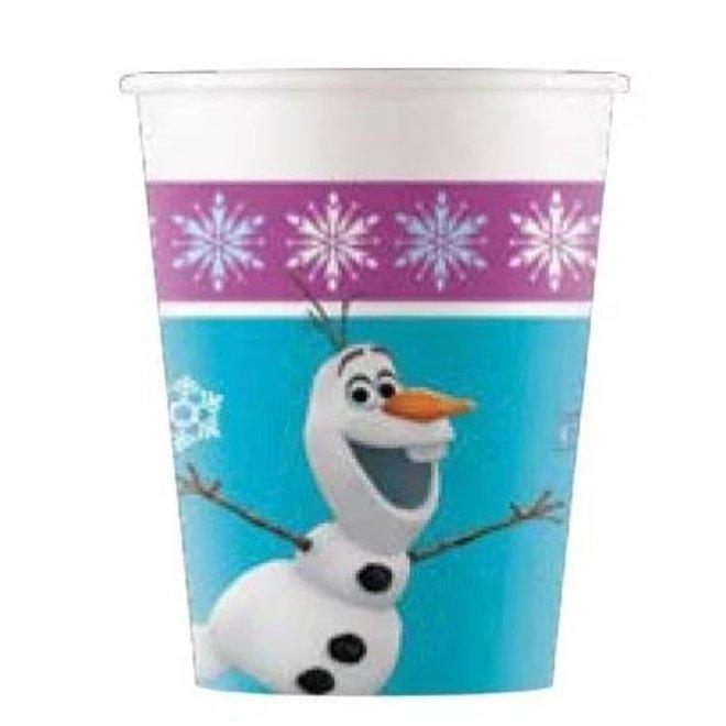 8 Disney Frozen Feestbekertjes - Northern Lights