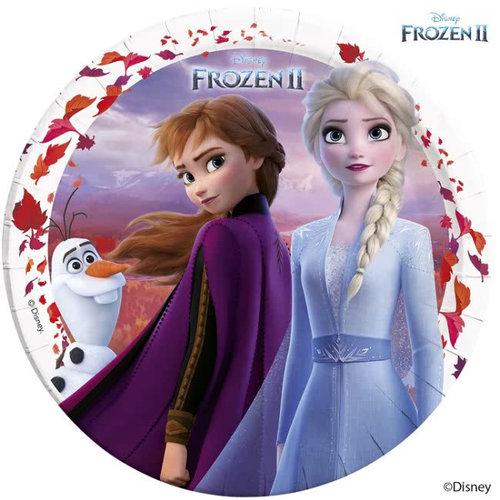 Frozen 8 Disney Frozen Feestbordjes - Frozen2