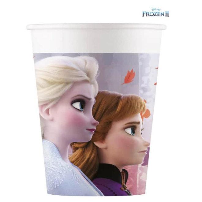 8 Disney Frozen Feestbekertjes - Frozen2