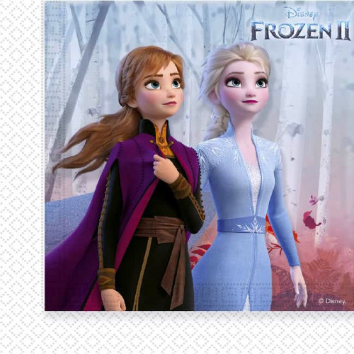 Frozen 16 Disney Frozen Servetten - Frozen2