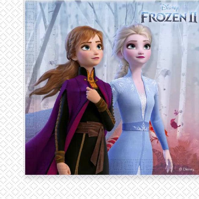 16 Disney Frozen Servetten - Frozen2