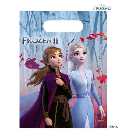 Frozen 6 Disney Frozen Uitdeelzakjes - Frozen2