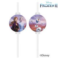 4 kartonnen Disney Frozen Rietjes - Frozen2