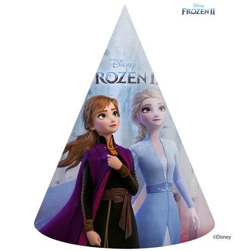 Frozen 6 Disney Frozen Feesthoedjes - Frozen2