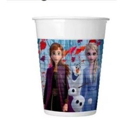 Frozen 8 Disney Frozen Bekertjes - Frozen2