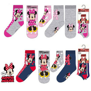 Minnie Mouse Minnie Mouse Sokken - 3 paar