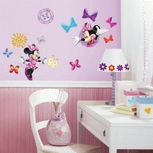 Minnie Mouse Minnie Mouse Muurstickers - Roommates