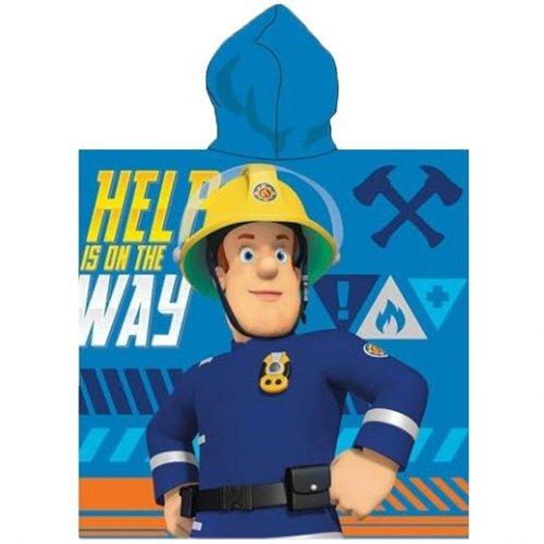Brandweerman Sam Brandweerman Sam Badponcho - Sneldrogend