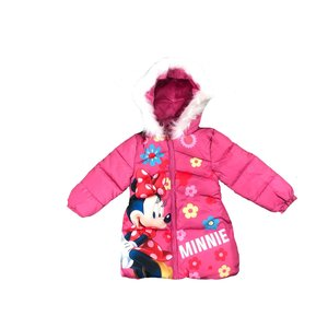 Minnie Mouse Minnie Mouse Winterjas met Bontkraag - Disney