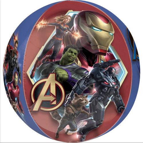 Avengers Avengers Folie Helium Ballon - Hervulbaar